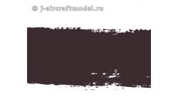 Краска MR.HOBBY H84 водоразбавляемая, коричнево-красная полуматовая, корабельная, 10 мл