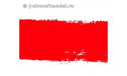 Краска MR.HOBBY H90 водоразбавляемая, лак красный полупрозрачный глянцевый, основной, 10 мл