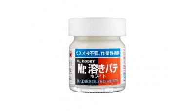 Шпаклевка жидкая - Mr.DISSOLVED PUTTY, 40 мл - MR.HOBBY P119