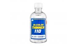 Разбавитель для красок на уретановой основе - Mr.COLOR THINNER 110, 110 мл - MR.HOBBY T102
