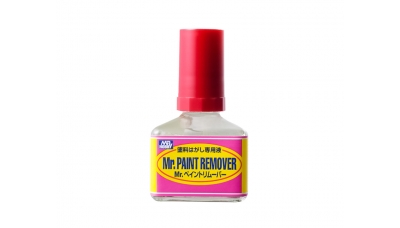 Жидкость для удаления краски - Mr.PAINT REMOVER, 40 мл - MR.HOBBY T114