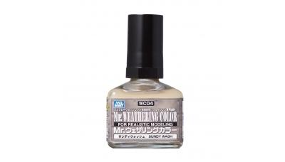 Смывка MR.WEATHERING COLOR WC04, песочного цвета, 40 мл - MR.HOBBY
