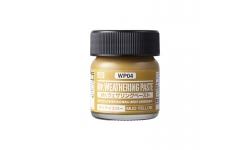 Паста текстурная Mr.WEATHERING PASTE WP04, грязь желтая, 40 мл - MR.HOBBY