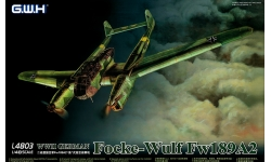 Fw 189A-2 Focke-Wulf, Uhu - G.W.H. GREAT WALL HOBBY L4803 1/48