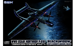 P-61B-1/2 Northrop, Black Widow - G.W.H. GREAT WALL HOBBY L4810 1/48