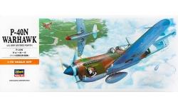P-40N Curtiss, Warhawk - HASEGAWA 00139 A9 1/72