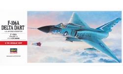 F-106A Convair, Delta Dart - HASEGAWA 00341 C11 1/72