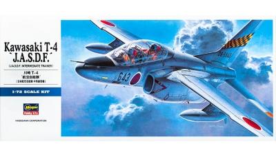 T-4 Kawasaki - HASEGAWA 00442 D12 1/72