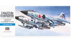 F-104J & CF-104 Lockheed, Starfighter - HASEGAWA 00446 D16 1/72