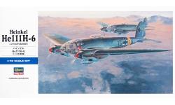 He 111H-6 Heinkel - HASEGAWA 00551 E21 1/72