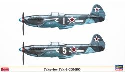 Як-3 Яковлев - HASEGAWA 01938 1/72