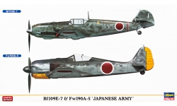 Bf 109E-7 Messerschmitt & Fw 190A-5 Focke-Wulf - HASEGAWA 02014 1/72