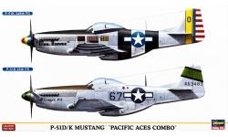 P-51D/K North American, Mustang - HASEGAWA 02020 1/72