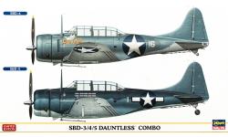 SBD-3/4/5 Douglas, Dauntless - HASEGAWA 02026 1/72