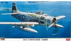 AD-6/7 Douglas, Skyraider - HASEGAWA 02027 1/72