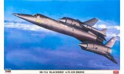 SR-71A Blackbird & D-21B Lockheed - HASEGAWA 02041 1/72