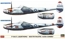 P-38J/L Lockheed, Lightning - HASEGAWA 02068 1/72