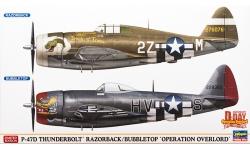 P-47D Republic, Thunderbolt - HASEGAWA 02099 1/72
