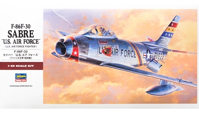 F-86F-30 North American Aviation, Sabre - HASEGAWA 07213 PT13 1/48