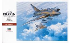 J 35F/J SAAB, Saab 35, Draken - HASEGAWA 07241 PT41 1/48