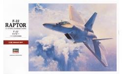 F-22A Lockheed Martin, Raptor - HASEGAWA 07245 PT45 1/48