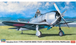 Ki-44-I Nakajima, Shoki - HASEGAWA 07331 1/48