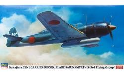C6N1 Model 11 Nakajima - HASEGAWA 07343 1/48