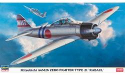 A6M2b Type 21 Mitsubishi - HASEGAWA 07359 1/48