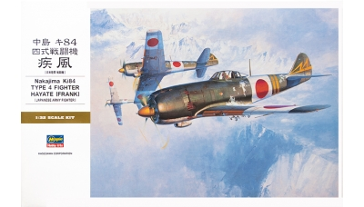 Ki-84-Ia Nakajima, Hayate - HASEGAWA 08074 ST24 1/32