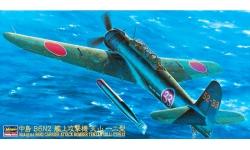B6N2 Type 12 Nakajima - HASEGAWA 09061 JT61 1/48