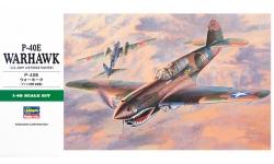 P-40E Curtiss, Warhawk - HASEGAWA 09086 JT86 1/48