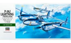 P-38J Lockheed, Lightning - HASEGAWA 09101 JT1 1/48