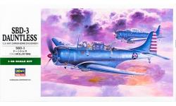 SBD-3 Douglas, Dauntless - HASEGAWA 09119 JT19 1/48