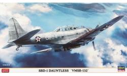 SBD-1 Douglas, Dauntless - HASEGAWA 09953 1/48