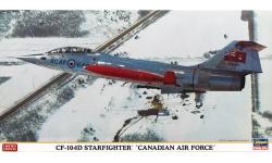 CF-104D Lockheed, Starfighter - HASEGAWA 09955 1/48