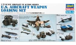 Аэродромная техника для загрузки вооружения ВВС США - HASEGAWA 35005 X72-5 1/72