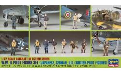 Фигурки пилотов Второй Мировой Войны - HASEGAWA 35008 X72-8 1/72