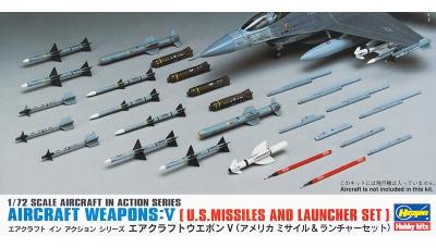 Ракетно-бомбовое вооружение ВВС США. Часть V - HASEGAWA 35009 X72-9 1/72