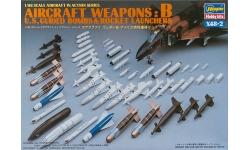 Ракетно-бомбовое вооружение ВВС США. Часть B - HASEGAWA 36002 X48-2 1/48