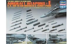 Ракетно-бомбовое вооружение ВВС США. Часть E - HASEGAWA 36117 X48-17 1/48