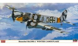 Hs 129B-2 Henschel - HASEGAWA 07310 1/48