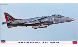 AV-8B Harrier II Plus McDonnell Douglas - HASEGAWA 07349 1/48