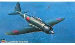 A6M3a Type 22a (Kou) Mitsubishi - HASEGAWA 09117 JT17 1/48