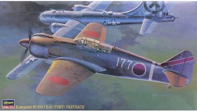 Ki-100-Ia (Kou) Kawasaki - HASEGAWA 09144 JT44 1/48