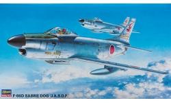 F-86D North American, Sabre Dog - HASEGAWA 51404 BP4 1/72