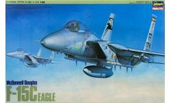 F-15C McDonnell Douglas, Eagle - HASEGAWA 07010 P10 1/48