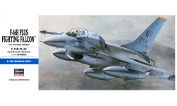 F-16B General Dynamics, Fighting Falcon - HASEGAWA 00444 D14 1/72