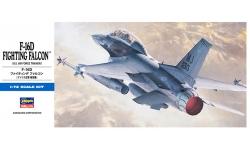 F-16D General Dynamics, Fighting Falcon - HASEGAWA 00445 D15 1/72