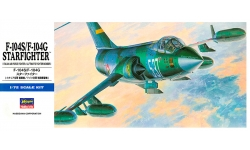 F-104G/S Lockheed, Starfighter - HASEGAWA 00447 D17 1/72