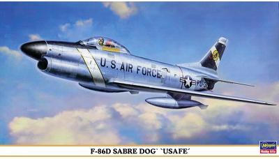F-86D North American, Sabre Dog - HASEGAWA 00751 1/72